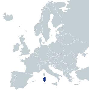 Obiective Turistice Sardinia Sardinia Hartaeuropa
